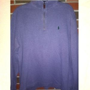 Polo by Ralph Lauren men's XL quarter zip sweater
